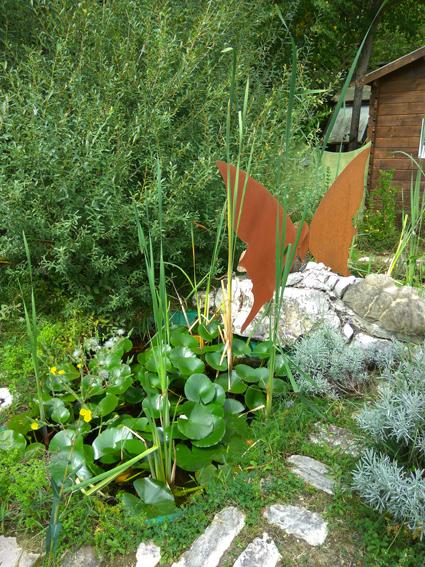 In Giardino delle farfalle, oasi naturalistico didattica