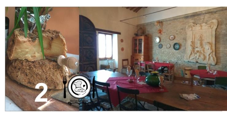 Beltrami: olio di Cartoceto DOP e formaggi nel borgo medievale