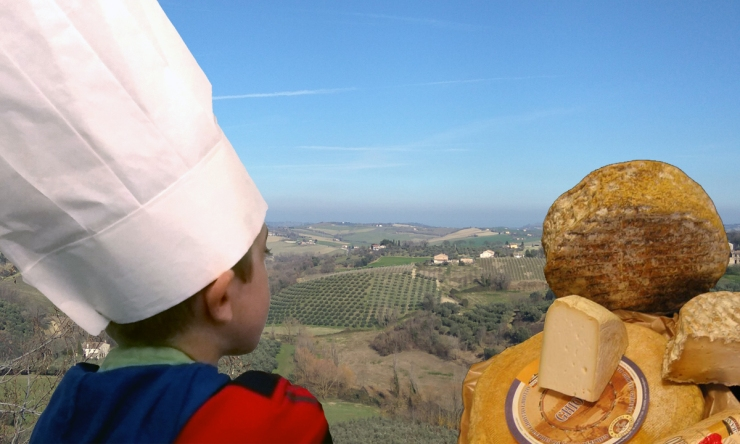 la via dei formaggi con i bambini