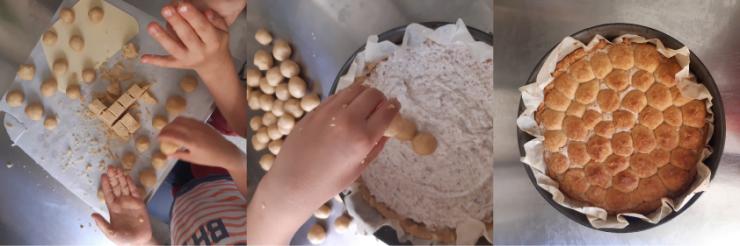 Torta di Pejo: costruzione della torta